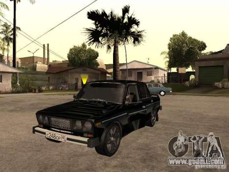 Vaz 21065 for GTA San Andreas inner view