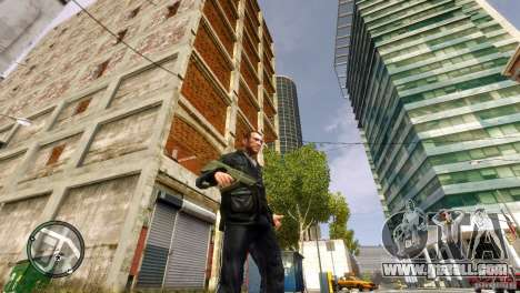 Tavor TAR-21 for GTA 4 forth screenshot