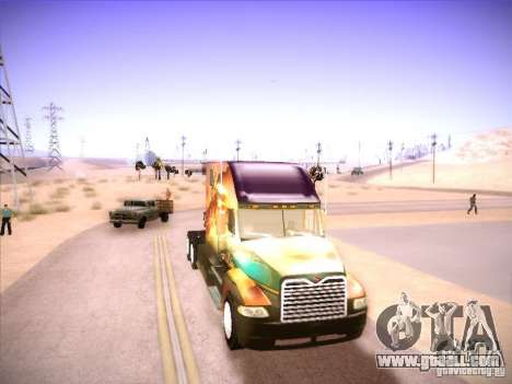 Mack Vision for GTA San Andreas left view