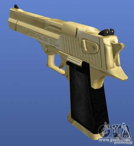 Desert Eagle Retex 1.2 Gold for GTA 4