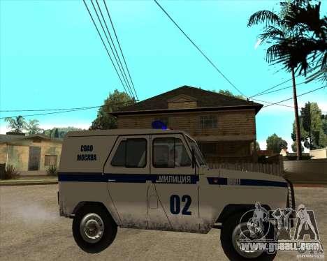 UAZ 31514 patrol for GTA San Andreas right view
