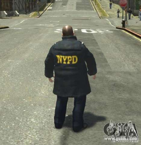 Ultimate NYPD Uniforms mod for GTA 4 ninth screenshot