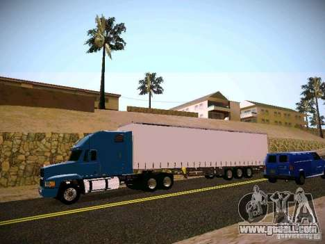 Mack ch 613 for GTA San Andreas left view