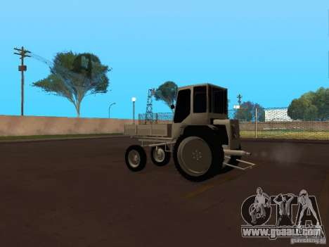 Tractor T16M for GTA San Andreas back left view