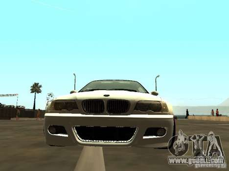 BMW M3 E46 v1.0 for GTA San Andreas back left view