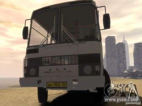 PAZ 3205 v1.1 for GTA 4 back view