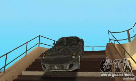 Ferrari 599 GTB Fiorano (black beauty) for GTA San Andreas