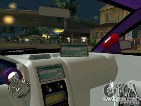 Mitsubishi Spyder 2Fast2Furious Cabriolet for GTA San Andreas upper view