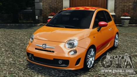 Fiat 500 Abarth for GTA 4