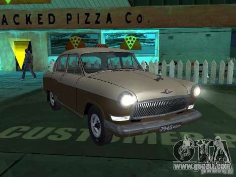 GAS M21T Taxi for GTA San Andreas