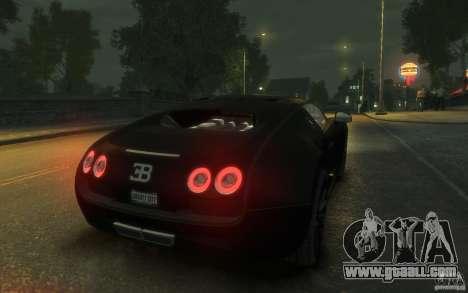 Bugatti Veyron Super Sport 2010 for GTA 4 right view
