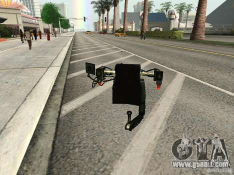 A New Jetpack for GTA San Andreas forth screenshot