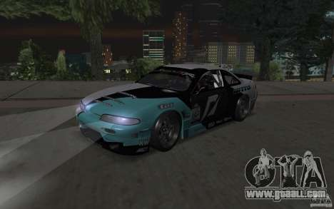 Nissan S14 Matt Powers 2012 for GTA San Andreas left view