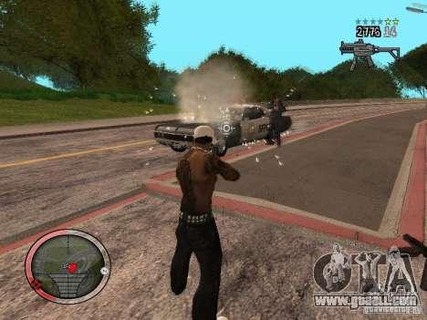 GTA IV HUD Final for GTA San Andreas sixth screenshot