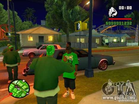 50 cent Skin for GTA San Andreas forth screenshot