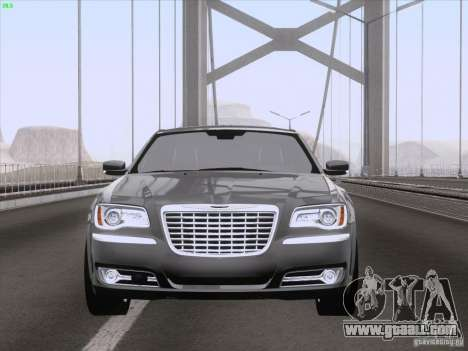 Chrysler 300 Limited 2013 for GTA San Andreas side view