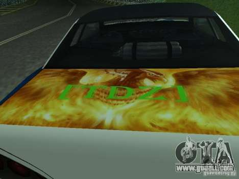 Vinyl for Elegy for GTA San Andreas right view