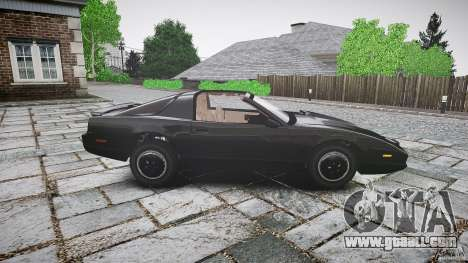 KITT Knight Rider for GTA 4 side view