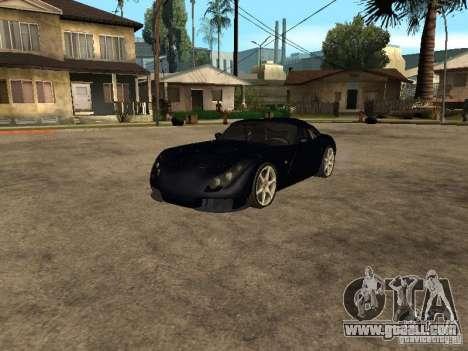 TVR Sagaris for GTA San Andreas left view