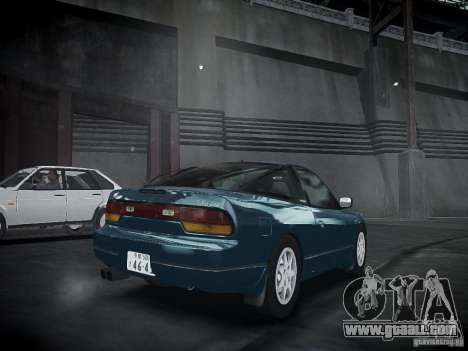 Nissan 240SX for GTA 4 left view
