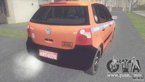VW Polo Taxi de Porto Alegre for GTA San Andreas left view