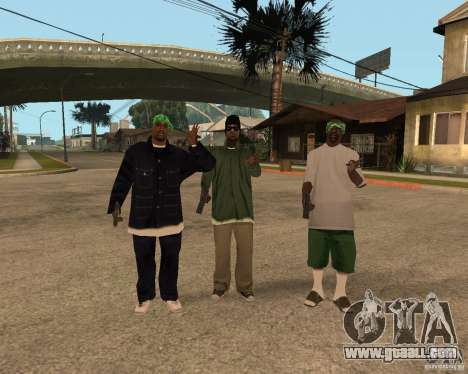 Ballasy's Grove for GTA San Andreas forth screenshot
