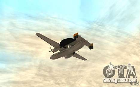 E-C2 Hawkeye for GTA San Andreas right view