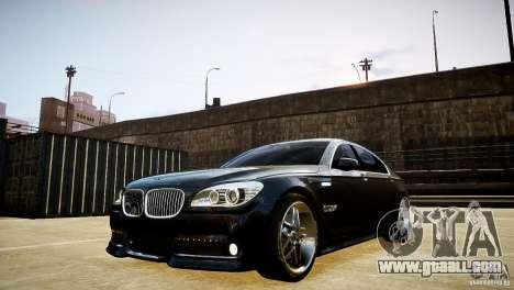 BMW 750Li (F02) Hamann 2010 v2.0 for GTA 4 inner view
