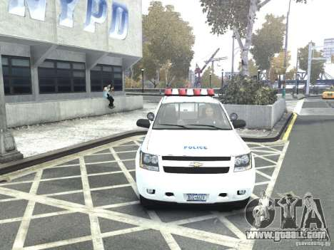 Chevrolet Tahoe NYCPD for GTA 4 right view