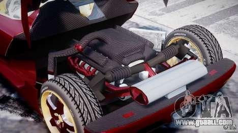 Koenigsegg CCRT for GTA 4 side view