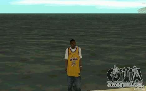Afro-American HD skin for GTA San Andreas