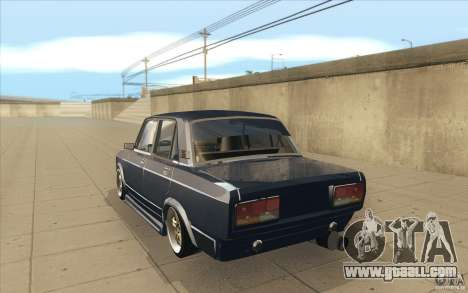 Vaz-2107 Lada Street Drift Tuned for GTA San Andreas back left view