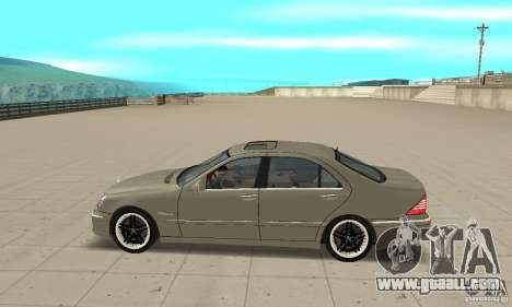 Mercedes-Benz S65 AMG 2004 for GTA San Andreas left view