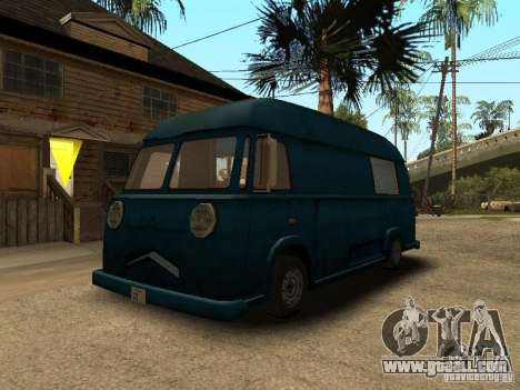 Civilian Hotdog Van for GTA San Andreas