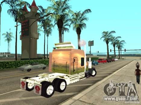 Kenworth W900 for GTA San Andreas right view