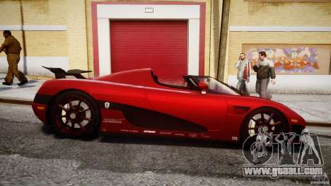 Koenigsegg CCXR Edition for GTA 4 inner view