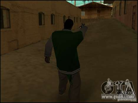 Weapon in one hand for GTA San Andreas forth screenshot