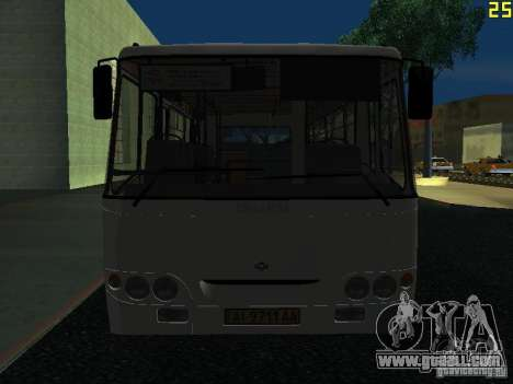 Bogdan A09202 v2 for GTA San Andreas side view