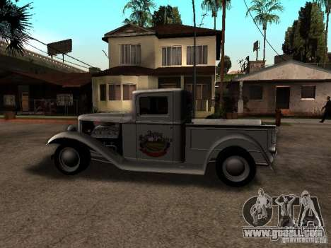 Ford Farmtruck for GTA San Andreas left view