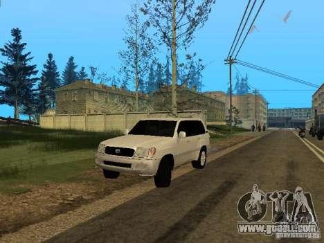 Toyota Land Cruiser 100 VX for GTA San Andreas