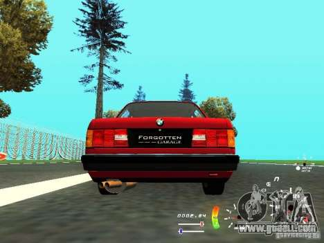 BMW E30 87-91 for GTA San Andreas right view