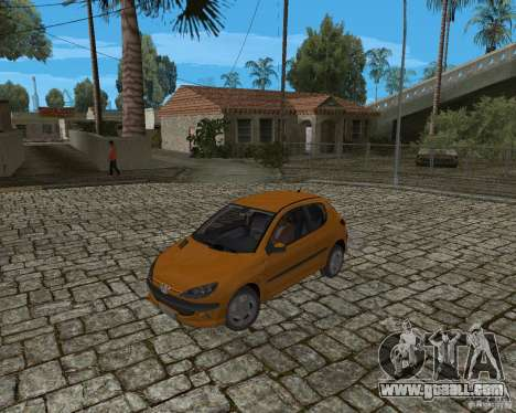 Peugeot 306 for GTA San Andreas back view