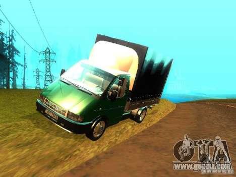 Gazelle 33021 for GTA San Andreas