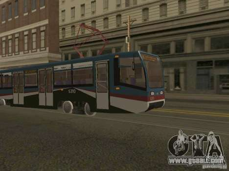 The NEW Tramway for GTA San Andreas second screenshot