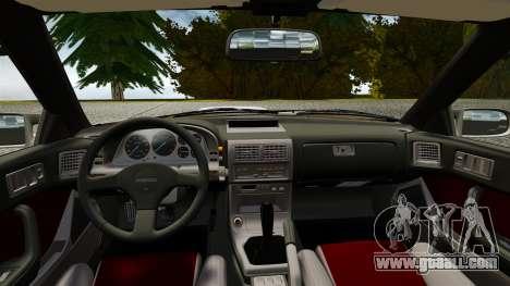 Mazda Savanna RX-7 for GTA 4 right view