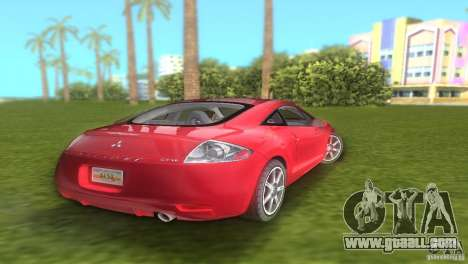 Mitsubishi Eclipse GT 2007 for GTA Vice City back left view