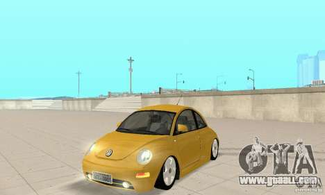 Volkswagen New Beetle GTi 1.8 Turbo for GTA San Andreas