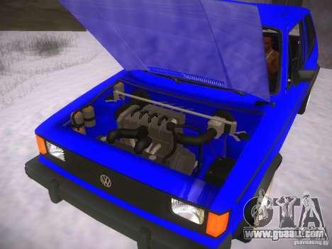 Volkswagen Rabbit GTI for GTA San Andreas right view