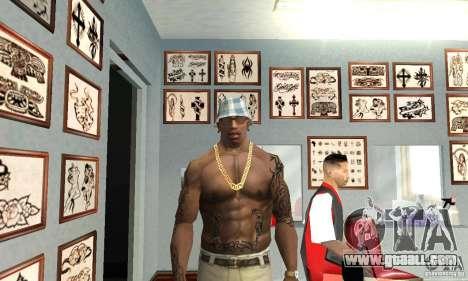50cent_tatu for GTA San Andreas second screenshot