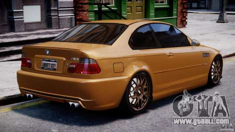 BMW M3 E46 Tuning 2001 v2.0 for GTA 4 upper view